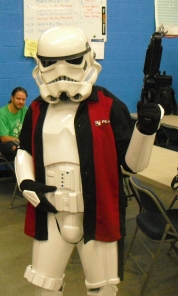 Storm Trooper by night, Pokemon Judge by day!