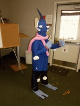 """""""Greninja appears and vanishes with a ninja's grace."""" We were just lucky he appeared in Fincastle!"""